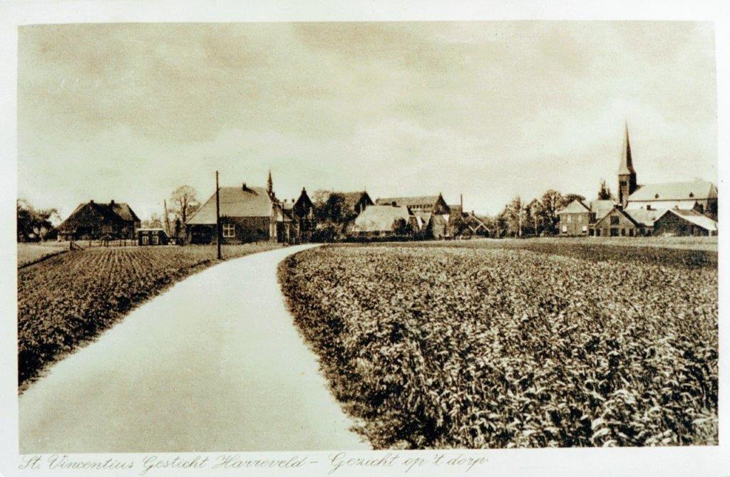 Kerkstraat Harreveld 1928